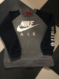 Child's Nike jumper