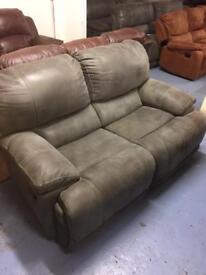 Ex-Display Grey Guvnor 2 Seater Sofa