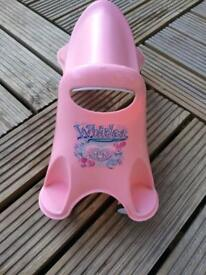 Pink whirlee toy