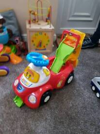 Vtech Toot Toot ride on