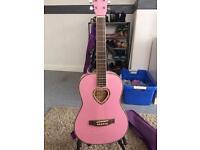 Pretty pink guitar