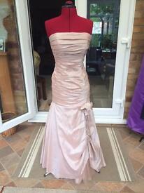 Light pink size 8 prom dress/evening gown dress