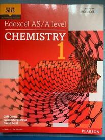 Edexcel as/a level chemistry year 1 workbook
