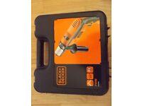 New/Sealed Black + Decker 710W Hammer Drill mains electric powered B&D KR714CRESK