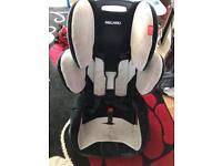 Recaro young sports car seat