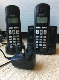 Gigaset Dect Twin Telephone with Answering Machine