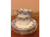English Bone China Cups and Saucers
