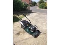 Hayter harrier petrol lawn mower