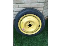 Genuine Honda Space Saver Spare Wheel 15inch 4 Stud Dunlop Temporary T135/80D15