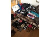 Large clothes and shoes bundle
