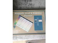Magnetic Meal &a Exercise Planner **NEW**