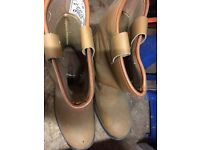 Work boots mens steel toe cap protected