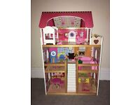 Large Dolls House with Furniture - Can Deliver
