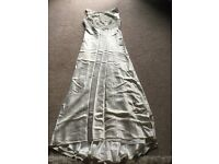 Monsoon wedding dress for sale can come with shoes and head peice.