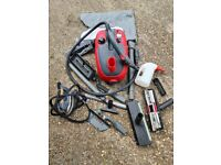 Steam Cleaner. Many Accessories. See Photos For Details.