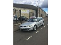 Renault Laguna Estate, 2006 1.9 Diesel, 10 months Mot, New clutch fitted - KIRKCALDY