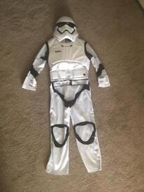 Storm trooper costume