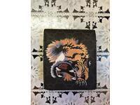 Gucci Black Tiger Wallet