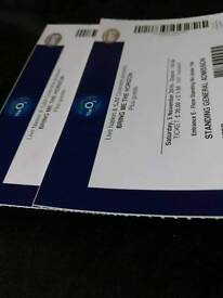 2 x Bring Me The Horizon 5th November standing tickets @ O2 arena