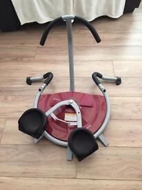 Exercise waist trimmer
