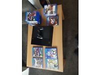 Playstation 4 with 20 games, 1 controller and all cables