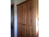 Wardrobe Solid Oak