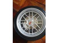 Car Tyre Shaped Wall Clock