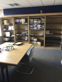 Various tambours & cupboards for all storage & filing on January sale starting from just £50 Only
