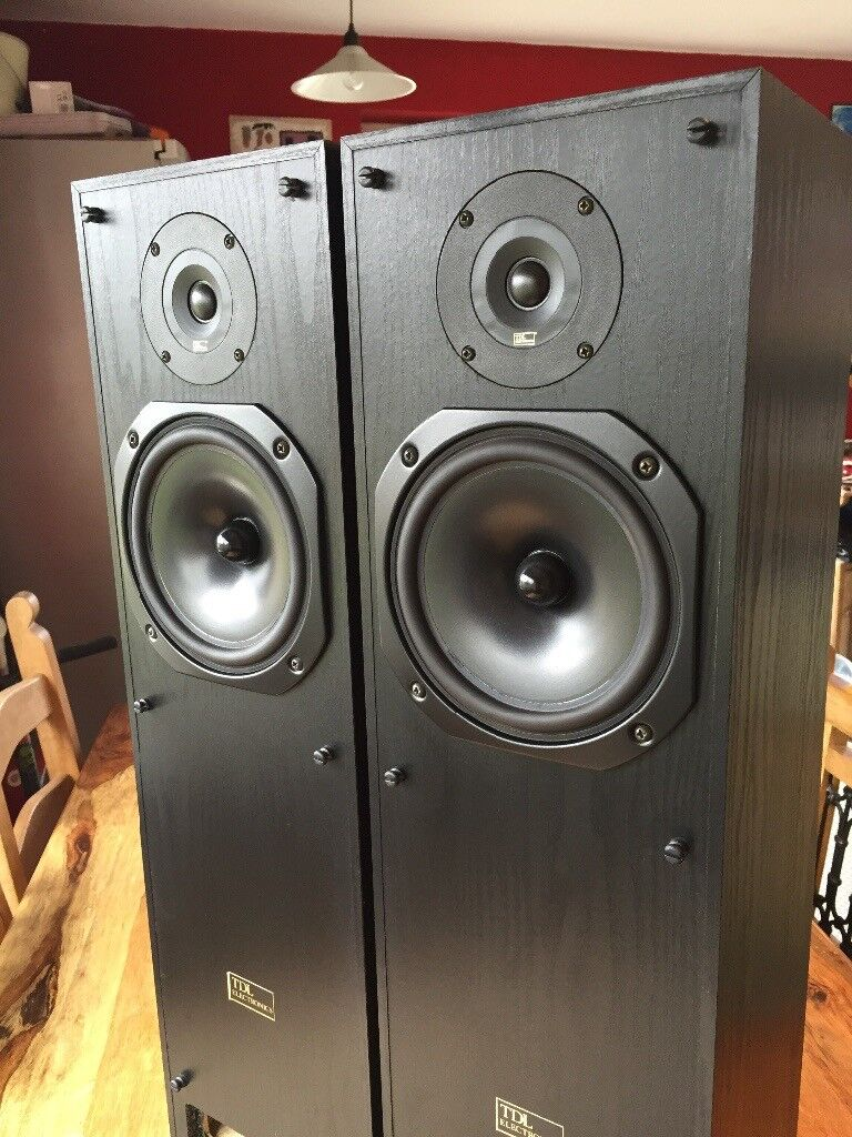 TDL Transmission Line Speakers RTL2 | in Rottingdean, East Sussex | Gumtree