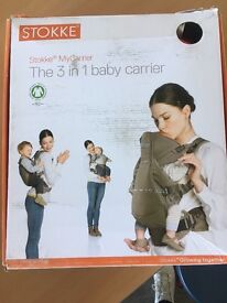 Stokke 3 in 1 carrier red