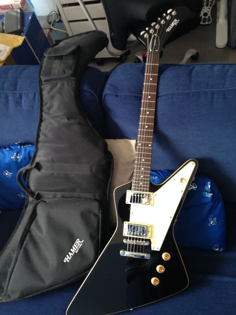 dbe82133b7b [FS] Hamer Standard Electric Guitar + Gig Bag Mint Condition, Like New -  Guitars £ Discussions on theFretBoard