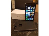 Iphone 6 Space Grey 128gb with Verus case and charger. Unlocked