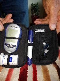 Aviva Accu-Chek blood glucose meter