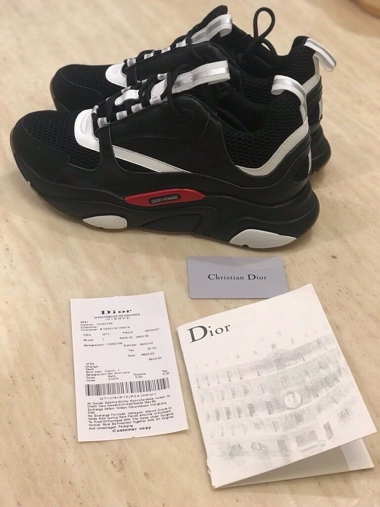 sports shoes 4fbd4 1d2fa Christian Dior Homme Sneakers