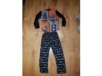 WWE Pyjamas Age 8-9 Years