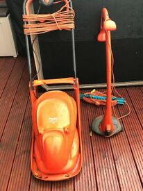 Excellent condition flymo and strimmer