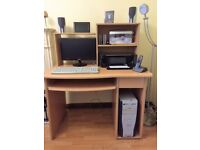 Computer Workstation. Perfect for home, student or small office.