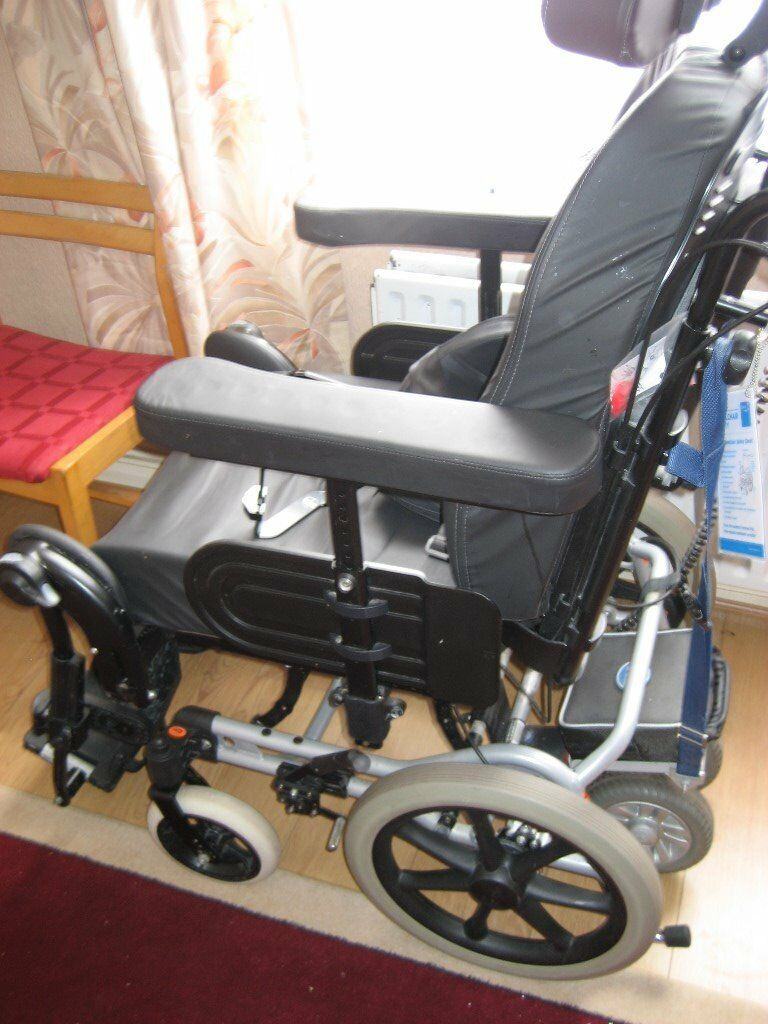 Battery Assisted Cushioned Wheelchair