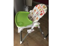 Mint condition feeding high chair