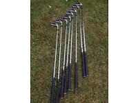 Taylor made burner tour set irons clubs