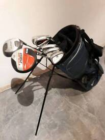 Nike Golf Bag with Clubs & Extras
