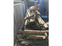 FREE FIRE WOOD OLD DECKING & TIMBER FRAME FREE TO COLLECT