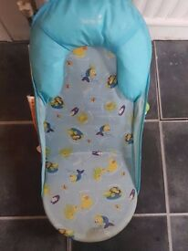 Baby bath, Baby chair and Baby bath duck