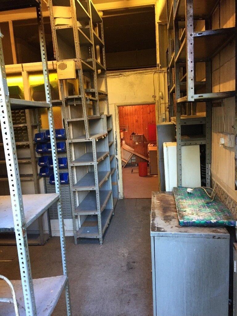 metal shelving racking for warehouse garage storage racking
