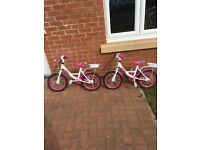 Two bikes for sale identical types