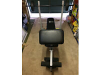 Pro Fitness Bench with 30kg Weights