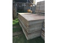 Wisaform Shuttering exterior plywood 18mm mdo contra film face structural ply 8ft by 4ft