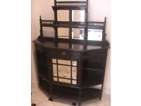 large beautiful sideboard or cupboard or console table can deliver