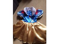 Girl Fancy Dress outfit Disney Snow White suit 2-3-4-5-6 yr