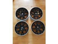 "Bbs Volvo nebula 18"" alloy wheels 235 40 18 Goodyear eagle f1 tyres"